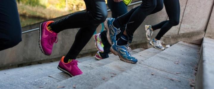 Fitness-Challenge Treppenlauf bei LAUFMAMALAUF
