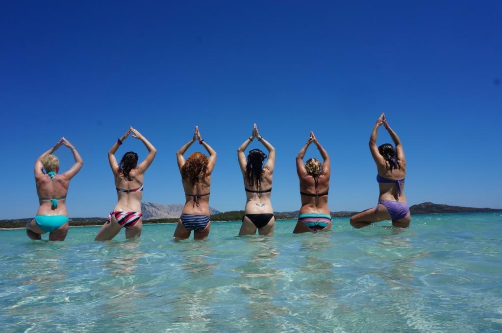 LAUFMAMALAUF Bikini Bootcamp - Im Meer