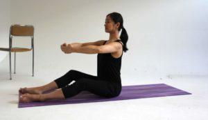 LAUFMAMALAUF Pilates Übung 2